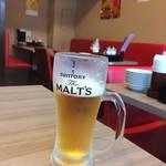 老北京 羊蝎子 - 生ビール