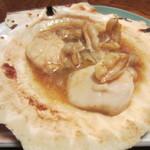 割烹 美登利 - ホタテ焼き