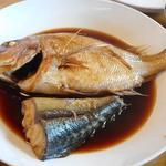 浜の味栄丸 - 煮魚(鯛、鰤)