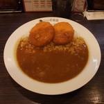 カレーハウスCoCo壱番屋 - クリームコロッケカレー(カニ入り)