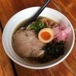 麺屋 千葉 JAPAN Miyagi  - 冷たい比内地鶏の中華そば 800円