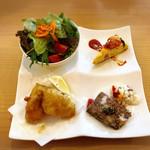 パッシオーネ - 前菜4種