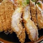 とんかつ 比呂野 - とんかつ定食(大)