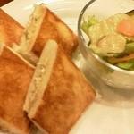 珈琲館シャガァル - ツナ焼きサンド