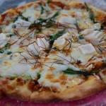 Kitchen GOOD!! - おもちと九条ネギの肉味噌ピザ