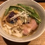麺処 竹川 - 畑の鶏そば