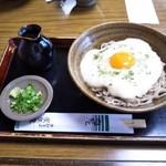 家族庵 - 冷・山かけ蕎麦¥1100