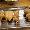 串カツ田中 - 料理写真:串(カレー玉、レバー、サンマなど)