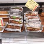 パリーネ - サンドイッチ類も安価で、充実。美味しい❣️