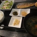 サーティーンカフェ - 干物定食