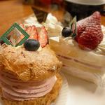 シェ・レカミエ - 苺のパリブレスト