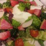 オステリア バルカ - かぶのムースサラダ仕立て