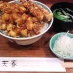11651562 - 天丼ランチ1360円(大盛り)