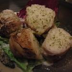 酒葵 - 豚巻きポテトサラダ