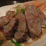 酒葵 - 黒豚つくねの香草風味