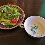 胡椒屋 - サラダボールとスープ