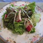 海猫軒 - ランチのサラダです。