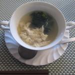 海猫軒 - コーンポタージュにウコンやクミンで特徴づけたスープです。