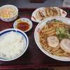 中華そば 吉備路 - 料理写真:ぎょうざ定食