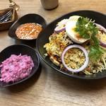 南インド家庭料理 インダスレイ - ハイデラバード ビリヤニ 1500円