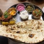 南インド家庭料理 インダスレイ - カバブセット 1200円