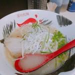 屋台拉麺一's - 料理写真:牛骨塩ラーメン