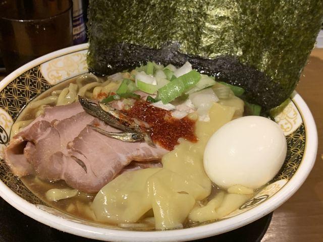 すごい煮干ラーメン凪 新宿ゴールデン街店 本館>