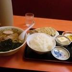 11653089 - 餃子定食&ラーメン