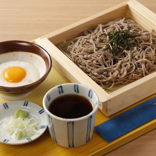 松江の地酒×蕎麦のペアリングをお楽しみください