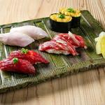 かわごえ 肉寿司 -
