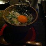 やもり - TKG  菜飯としらすの卵かけご飯  740円