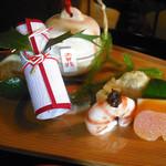 京都 吉兆 嵐山本店 - 前菜八寸