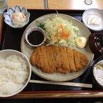 山六食堂 - 山六のカツ定食(^^)