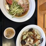 台湾料理 宴天下 - 料理写真:ランチ セットメニュー680円+消費税=734円