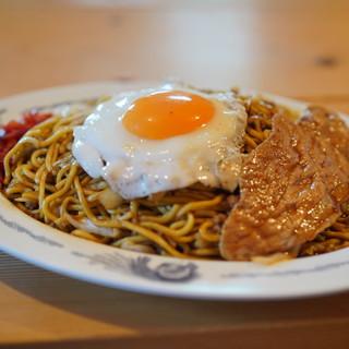 藤春食堂 - 料理写真:特製焼きそば