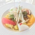 フルーツピークス - 料理写真:フルーツパスタ