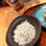 藁焼きと茶碗蒸し 西新橋魚金 - しらす