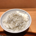 藁焼きと茶碗蒸し 西新橋魚金 - しらす丼