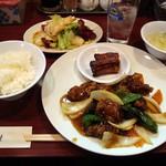 牡丹江 - 2012・酢豚ランチ