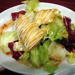 牡丹江 - 2012・酢豚ランチ・サラダ