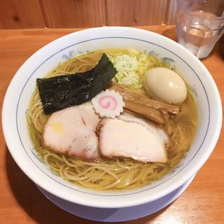 きく屋 - 料理写真:淡口ラーメン煮玉子入り ¥800