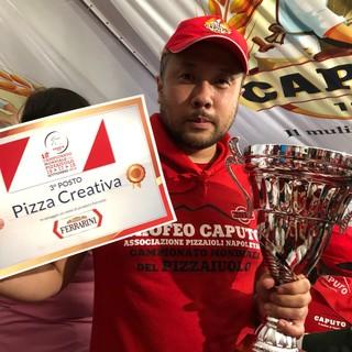 ナポリピッツァ世界大会3位受賞