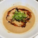 麺 やまらぁ - 坦々つけ麺  スープ