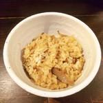 116558241 - 鶏とごぼうの炊き込みごはん(小)