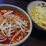 大勝軒 しのや - もりそば赤(麺半分)