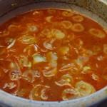 大勝軒 しのや - スープ割(こってり)