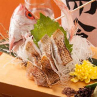 ◆厳選◆築地から毎朝仕入れる鮮魚をお手頃価格にてご提供!