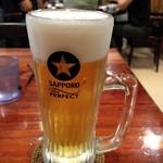 キッチンパパ - ドリンク写真:生ビールでぷっはー(*^-^*)