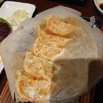 116564500 - 鉄板海老餃子と若鶏の唐揚げ