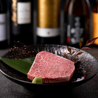 『4%の奇跡』というここでしか食べれないお肉の芸術品